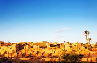 Die Oase, Algerien