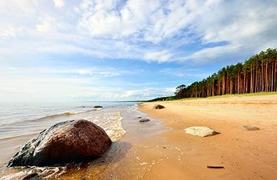 Fähren nach Lettland