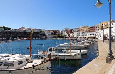 Hafen, Menorca
