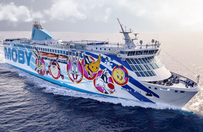 Fast Cruise Ferry - Moby Aki