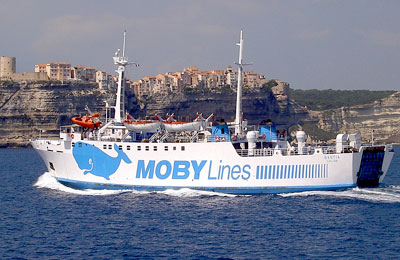 Ferry - Moby Bastia
