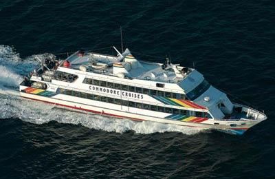 Commodore Cruises Fähre